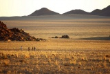 Vast open spaces at sossusvlei desert lodge