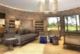 Thorntree river lodge lounge-library