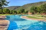 Pool at damara mopane lodge