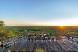 View from damara mopane lodge