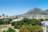 Cape town hollow view of table mountain