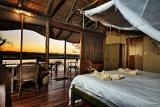 Xugana Island Lodge Chalet Interior
