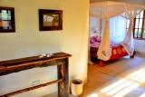 Bedroom, junior suite, arumeru river lodge