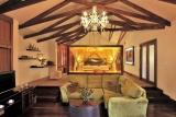 Plantation suite interior, arusha coffee lounge