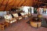Guest lounge, manyara wildlife camp