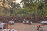 Lake Manyara Tree Lodge, dining boma