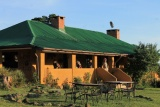 Main building at Rhino Lodge