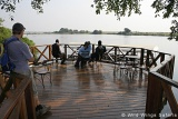 Chobe Marina Lodge deck