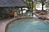 Chobe Marina Lodge pool bar