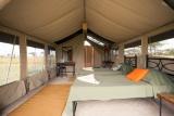 Serengeti kati kati - inside the tent