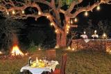 Serengeti Migration Camp, barbecue dinner