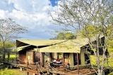 The tents at Serengeti Migration Camp
