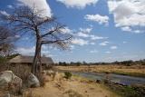 On the river at  Ruaha River Lodge