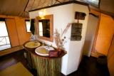 Bathroom at Katavi Wildlife Camp