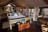 Katavi Wildlife Camp, bedroom