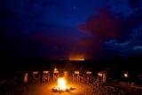 Bush fire at Katavi Wildlife Camp