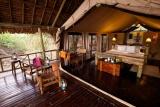 Katavi Wildlife Camp, private deck