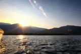 The lake, Kungwe
