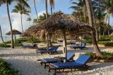 Sunbeds at Breezes Beach Club