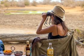Game spotting from Baobab Ridge
