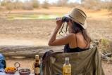 Watching Game from Patio Deck, Baobab Ridge