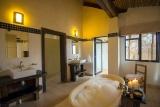 Luxury bathtime at baobab ridge