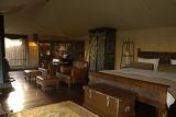 Camp Shonga bedroom in luxury tent