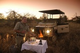 Imbali Safari Lodge sundowners in the African bushveld