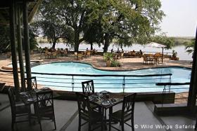 Chobe Safari Lodge pool