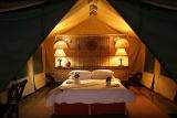 Pom Pom Camp luxury safari tent