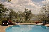 Muchenje Lodge poolside view