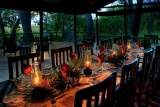 Kwando little kwara dining area 2