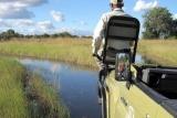 Kwando little kwara water crossing