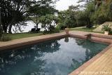 Kubu Lodge swimming pool area