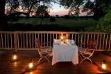 Private dining at selati camp