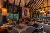 Little bush camp - lounge and dining