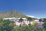 Mount Nelson Hotel at foot of Table Mountain