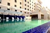 Inviting pool at Peermont Metcourt Hotel