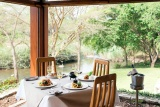 Dining at hippo hollow