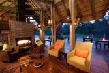 Rhino post lounge view