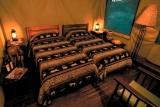 Lower Sabie tent inside