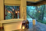 Ngala safari lodge bathroom