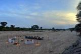 Ngala tented camp dining al fresco