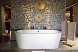 Ngala tented camp luxury bath