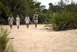Ngala tented camp riverbed walk