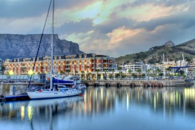 Cape Grace with Table Mountain as a backdrop