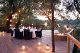 Pioneers camp terrace dining