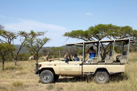 Game drive at isibindi zulu lodge