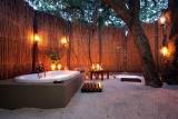 Kosi forest lodge outside bathroom