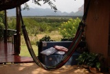 Hammock with a view at Blyde Mountain CH